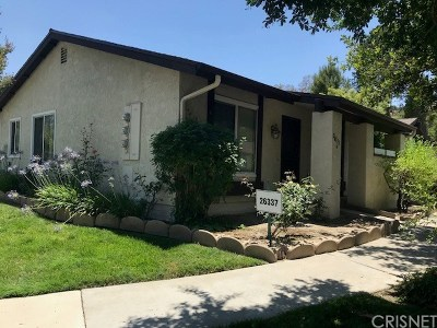 Newhall Condo/Townhouse For Sale: 26337 Oak Highland Drive #A