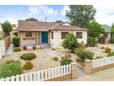 Northridge Single Family Home For Sale: 7862 Louise Avenue