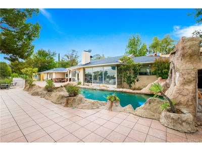 Tarzana Single Family Home For Sale: 19536 Wells Drive
