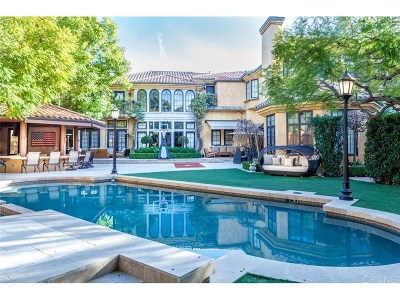 Beverly Hills Single Family Home For Sale: 14003 Aubrey Road