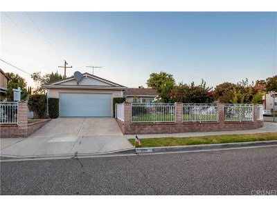 Simi Valley Single Family Home For Sale: 2191 Abraham Street