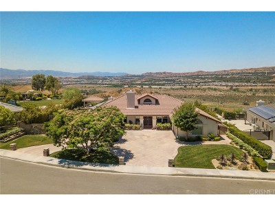 Saugus Single Family Home For Sale: 28817 Silkwood Court