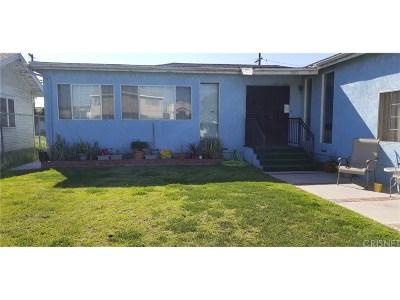 Long Beach Single Family Home For Sale: 1865 Lemon Avenue