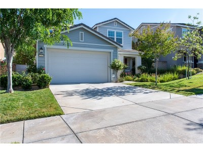 Saugus Single Family Home For Sale: 22629 Dragonfly Court