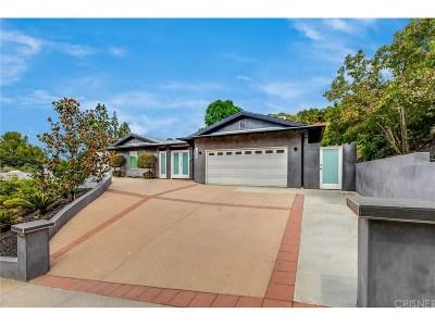 Encino Single Family Home For Sale: 16601 Calneva Drive