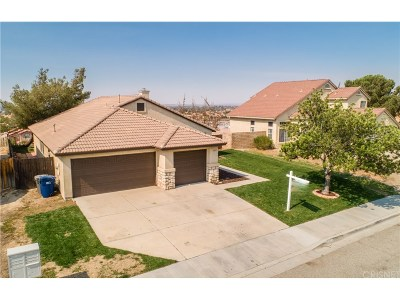 Palmdale Single Family Home For Sale: 3149 Conestoga Canyon Road