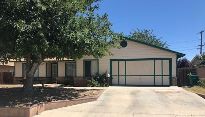 Palmdale Single Family Home For Sale: 1710 East Avenue Q13