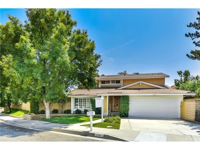 Saugus Single Family Home For Sale: 27924 Oregano Circle