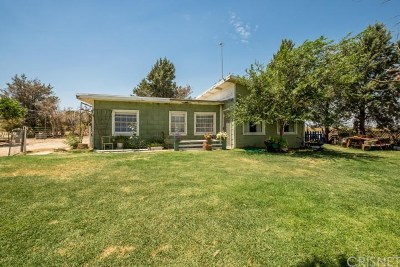Lancaster Single Family Home For Sale: 47345 93rd Street West