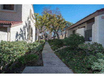 Tarzana Condo/Townhouse For Sale: 6020 Etiwanda Avenue #120