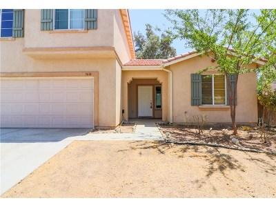 Palmdale Single Family Home For Sale: 3614 Desert Oak Drive