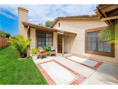 Valencia Single Family Home For Sale: 25923 Palomita Drive