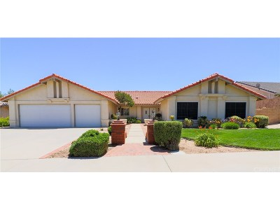 Palmdale Single Family Home For Sale: 41428 Almond Avenue