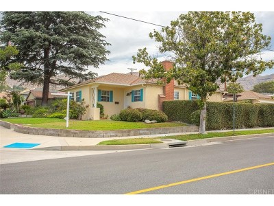 Burbank Single Family Home For Sale: 3000 North Frederic Street