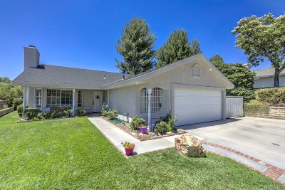 Saugus Single Family Home For Sale: 27941 Harwood Drive