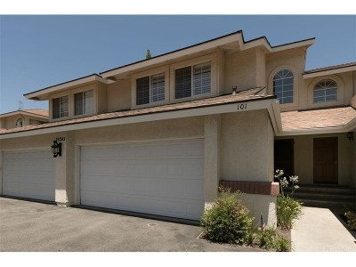 Saugus Condo/Townhouse For Sale: 28343 Seco Canyon Road #101