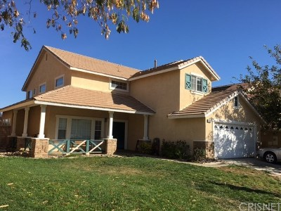 Lancaster Single Family Home For Sale: 6649 Almond Valley Way