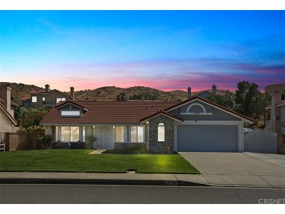 Palmdale Single Family Home For Sale: 4746 Grandview Drive