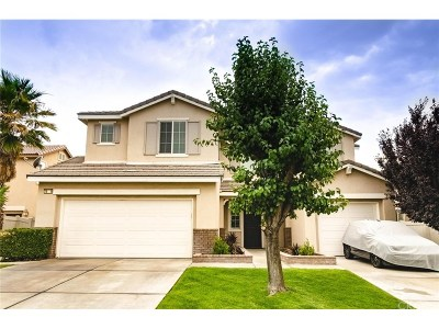 Palmdale Single Family Home For Sale: 38119 Aidea Street
