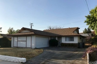 Canyon Country Single Family Home For Sale: 19831 Keaton Street