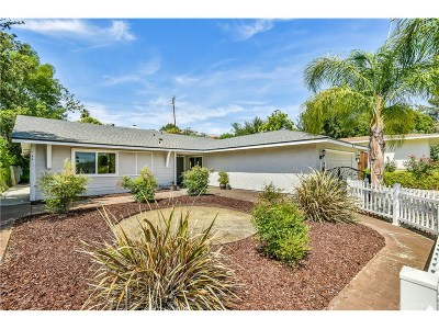 Calabasas Single Family Home Sold: 26165 Roymor Drive