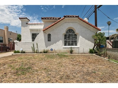 Los Angeles CA Single Family Home For Sale: $489,000