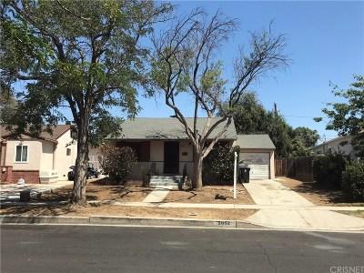 Encino Single Family Home For Sale: 5852 Alonzo Avenue