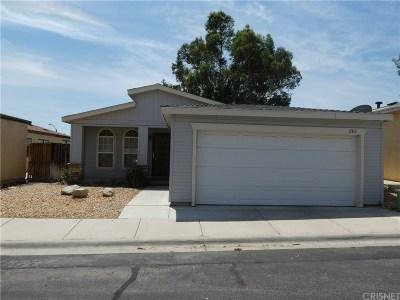 Rosamond Single Family Home For Sale: 2312 Panorama Lane