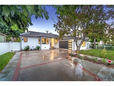 Encino Single Family Home For Sale: 17915 Palora Street