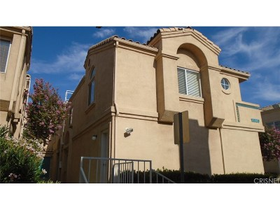 Newhall Condo/Townhouse For Sale: 18820 Vista Del Canon #E