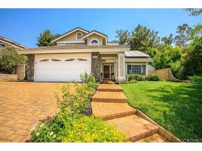 Saugus Single Family Home For Sale: 21945 Lynette Lane