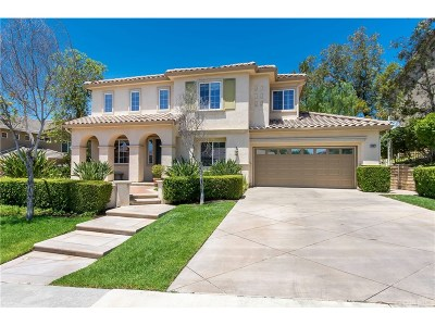 Saugus Single Family Home For Sale: 28327 Hidden Hills Drive