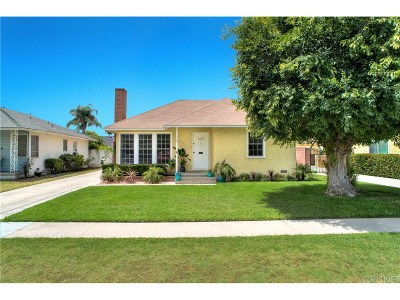 Long Beach Single Family Home For Sale: 3123 Heather Road