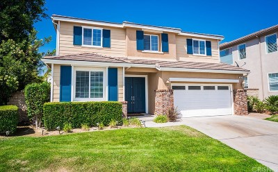 Saugus Single Family Home For Sale: 22177 Summer Breeze Court