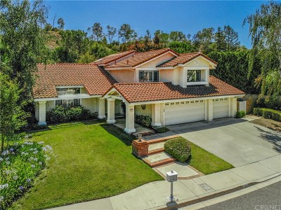 Thousand Oaks Single Family Home For Sale: 762 Lynnmere Drive