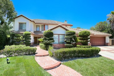 Saugus Single Family Home For Sale: 25323 Clear View Court