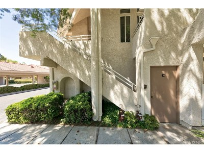 Stevenson Ranch Condo/Townhouse For Sale: 25941 Stafford Canyon Road #C