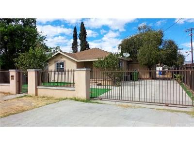 Single Family Home For Sale: 15415 Lemarsh Street