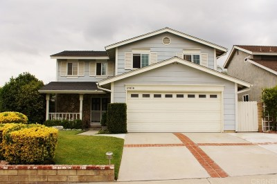 Saugus Single Family Home For Sale: 21836 Scallion Drive