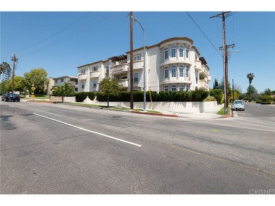Valley Village Condo/Townhouse For Sale: 4832 Whitsett Avenue #103