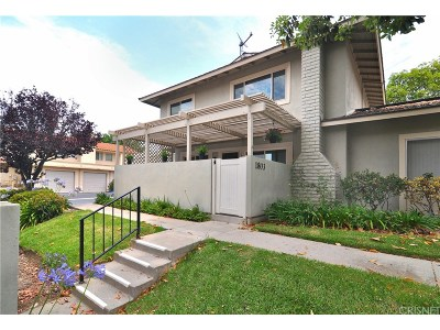 Thousand Oaks Condo/Townhouse For Sale: 1803 Aleppo Court