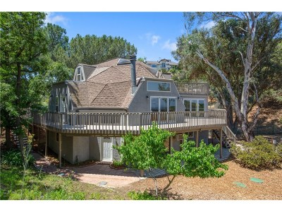 Topanga Single Family Home For Sale: 22111 Saddle Peak Road