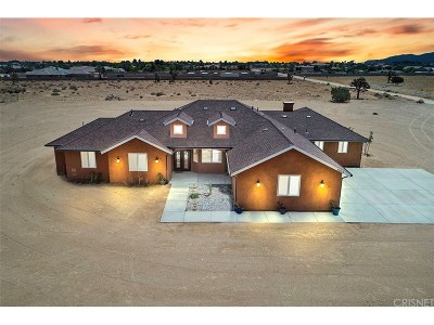 Palmdale Single Family Home For Sale: 39916 27th Street West