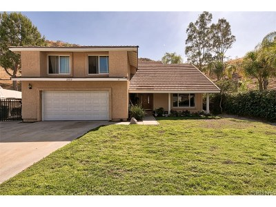 Saugus Single Family Home For Sale: 20939 Ben Court