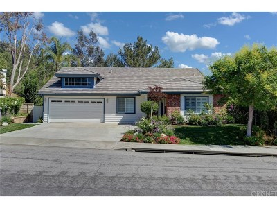 Valencia Single Family Home For Sale: 27102 Colebrook Place