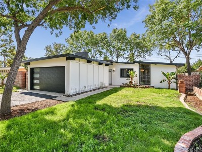Reseda Single Family Home For Sale: 17970 Hatton Street