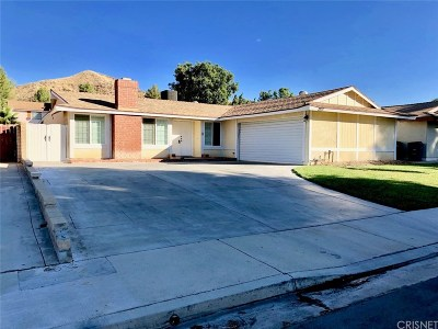 Saugus Single Family Home For Sale: 28147 Newbird Drive