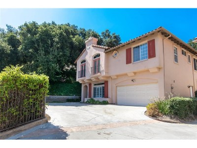 Newhall Single Family Home For Sale: 23808 Valley Oak Court