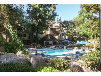 Woodland Hills Condo/Townhouse For Sale: 6265 Canoga Avenue #47