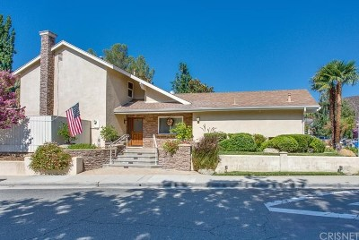 Agoura Hills Single Family Home For Sale: 6003 Hackers Lane